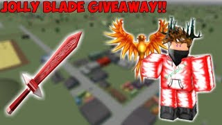 JOLLY BLADE GIVEAWAY!! (Roblox Assassin)