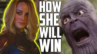 How Captain Marvel Will Beat Thanos