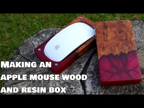 Making A Resin And Burr Box For My Apple Mouse!