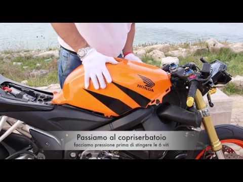 Tutorial Istallare Carena Abs Honda Cbr 600rr Youtube