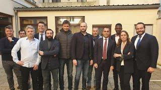 Di Maio trifft Gelbwesten - privat und auf französisichem Boden