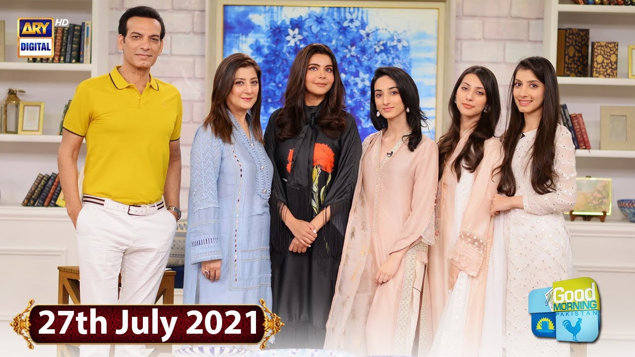 Download Good Morning Pakistan - Saleem Sheikh With Family Special Show - 27th July 2021 - ARY Digital