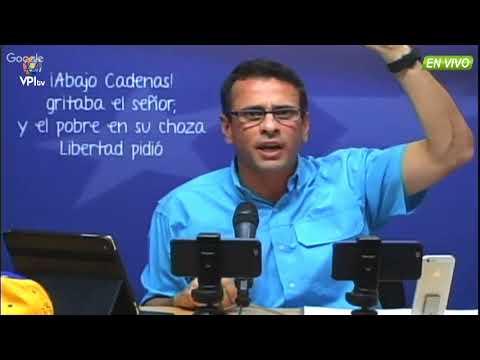 Venezuela. Capriles acusa a Ramos Allup de dirigir juramentación de gobernadores  -VPItv