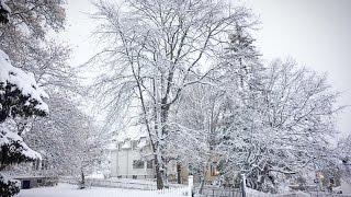 Um VLOG sobre, Harstad, neve e caixa de correio na Noruega