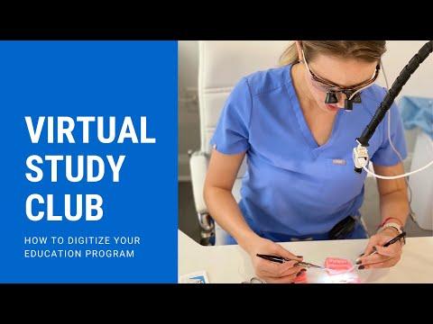 Virtual Study Club | Teach Dentistry Online