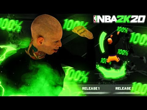 THIS NEW AUTOMATIC GREENLIGHT JUMPSHOT IS UNSTOPPABLE ON NBA 2K20!BEST NBA 2K20 100% GREEN JUMPSHOT!