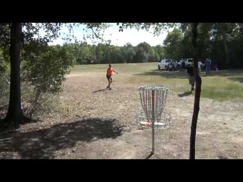 Texas Army Trail Sunday Doubles Part 1 - 7/24/2011 Disc Golf