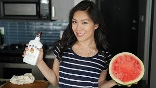 1 Minute Boozey Watermelon I Debbie Wong's Wok And Gong