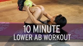 10 Minute Intense Lower Ab Workout thumbnail