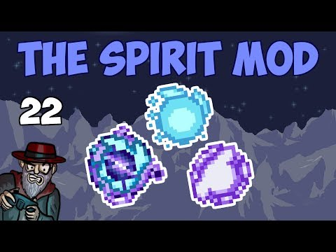 Terraria #22 THE RETURN! Rune Armor! - 1.3.5 Spirit Mod Let's Play