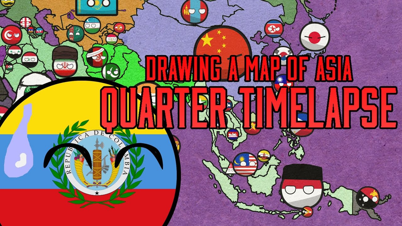 Countryballs Speedart 15 Asian Family Remaking My First Countryballs Speedart Youtube