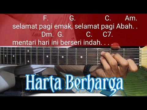 Harta Berharga - BCL (OST Keluarga Cemara) || Chord Gitar Harta Berharga || BCL