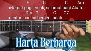 Harta Berharga Bcl (ost Keluarga Cemara) || Chord Gitar Harta Berharga || Bcl