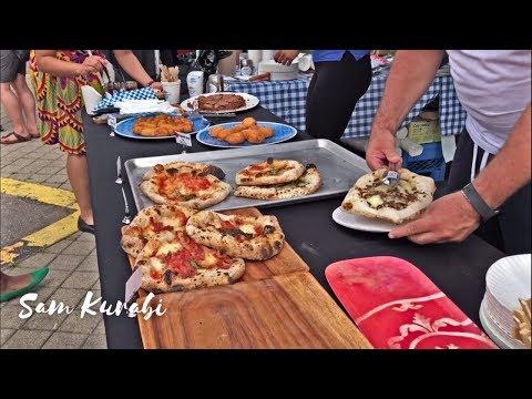 Toronto Pizza Fest 🇮🇹 2019 | Street Food In Canada 🇨🇦 | مهرجان البيتزا في تورنتو كندا