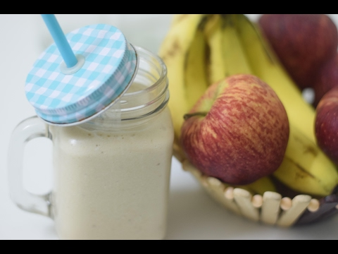Apple Banana Smoothie | Healthy Drink Recipe