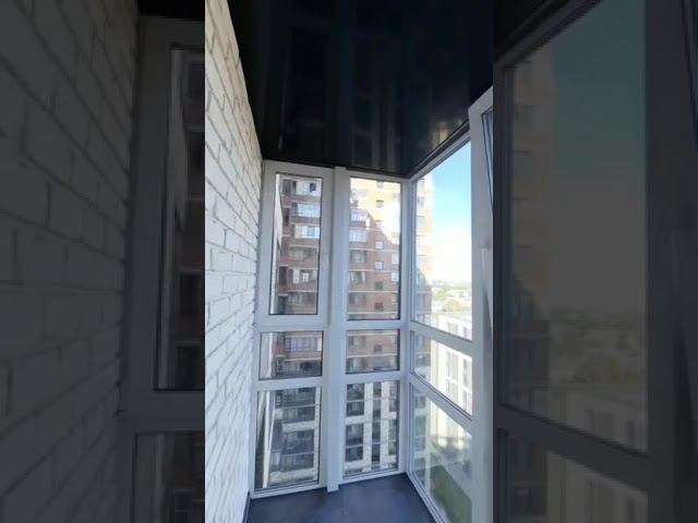 Смотреть видео Балкон под ключ @ Невзоровой, 9