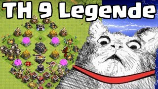 TH9 Legende ohne Deff Gebäude [Clash of Clans ] DEUTSCH