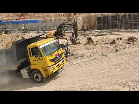 VC commercial vehicle 6028T Bangalore mahadevapura bagmane tech park agastya group live trial