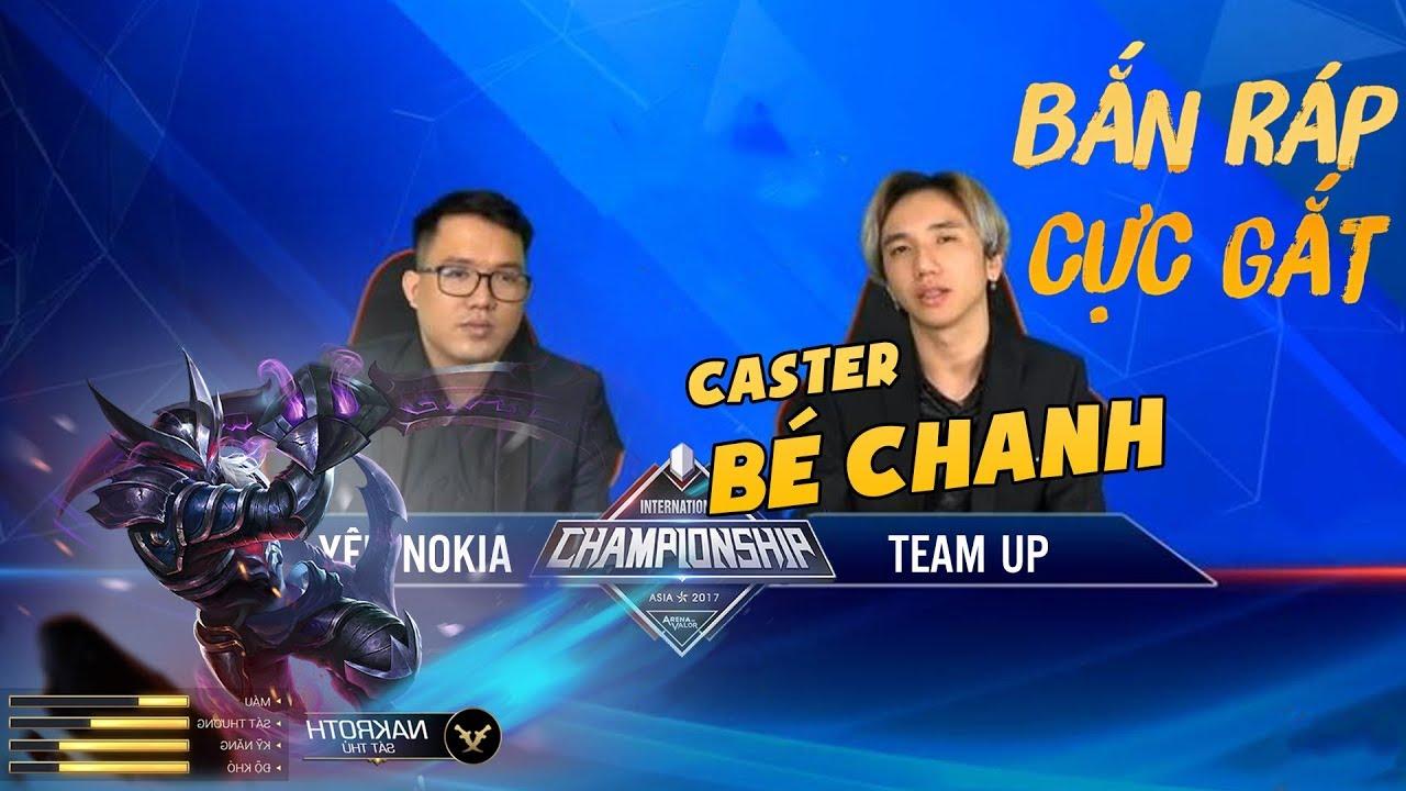 Bé Chanh lần đầu tiên góp mặt trong giải đấu với vai trò Bình Luận Viên
