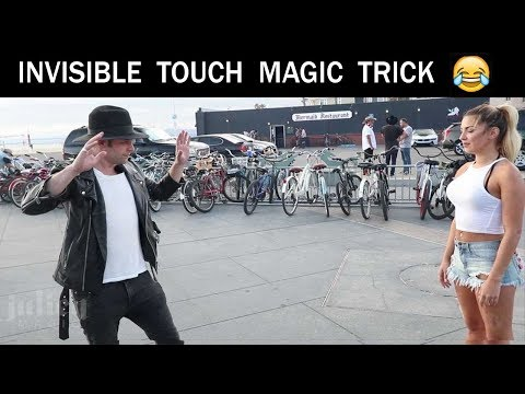 INVISIBLE TOUCH MAGIC TRICK 😵😵-Julien Magic