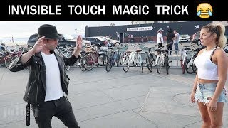 Repeat youtube video Touching Girls breasts using Magic Trick -Julien Magic