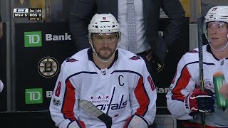 Ovechkin plays bank for