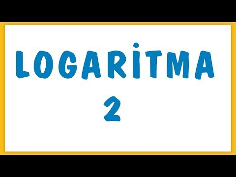 Logaritma 2 Şenol Hoca Matematik