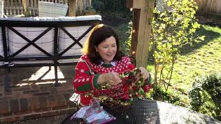 Eric's Good Cheer Caregiver Craft Grapevine Tree