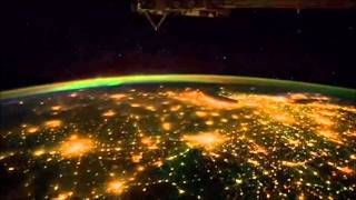 America at night from the Space Station