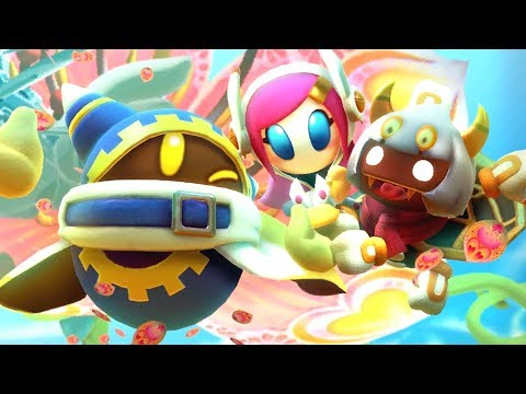 Kirby Star Allies - New Dream Friends Ending + Final Boss