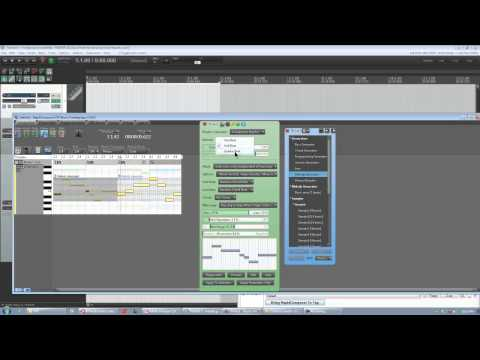 RapidComposer Tutorial Part 5 (Melody Generator, RC as VST over audio loop)