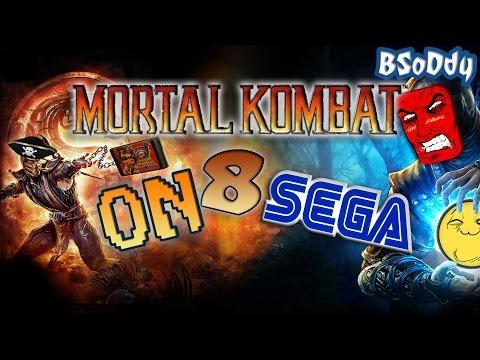 Mortal Kombat 8 On SEGA Mega Drive [Review by BSoDdy]