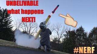 John Wick Stlye Nerf Gun Rocket Launcher