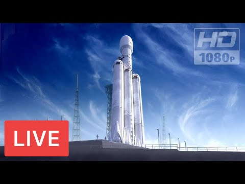 watch-now:-spacex-to-launch-falcon-heavy-rocket-#nasa-@kennedy-space-center,-5:35pm