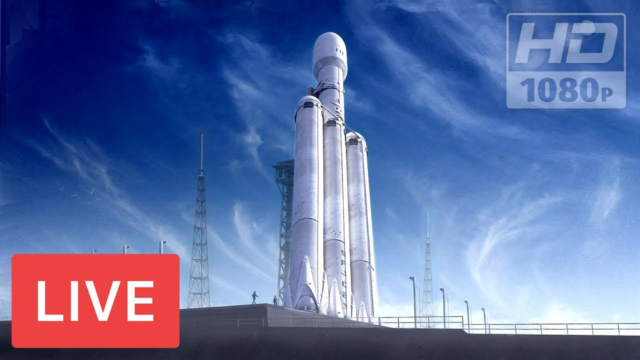 WATCH: SPACEX FALCON HEAVY! #superHeavyRocket @Kennedy Space Center