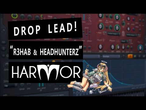 "HARMOR - ""Diseño Sonoro"" - R3hab & Headhunterz - We Won't Stop Rocking (Drop Synth)"