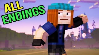 Minecraft Story Mode Season 2 Episode 5 - Final Boss & All Endings