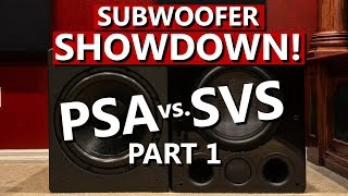 Power Sound Audio PSA S3611 vs SVS PB16 Ultra | Subwoofer Comparison