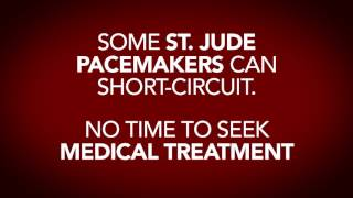 St. Jude Pacemaker Warning