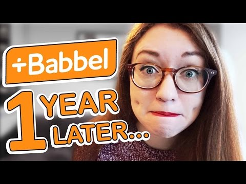 Do I remember Babbel vocab after 1 year? Babbel Vocabulary Review Manager Demo