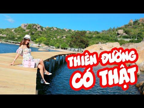 Cảnh đẹp như thiên đường tại Cam Ranh- Review Resort Sao Biển, Cam Ranh | Thiên Di vlog | go2eat