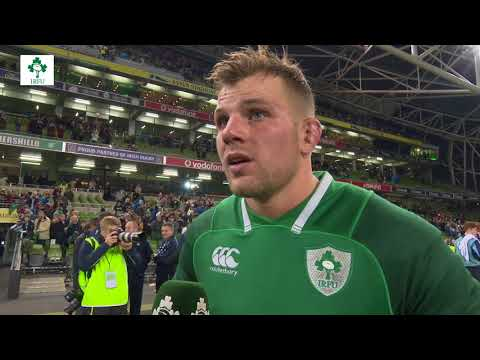 Irish Rugby TV: 'It's Great To Be Back In The Green Jersey' - Jordi Murphy