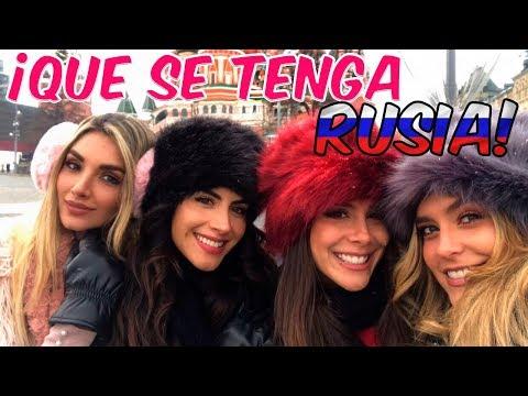 ¡Que Se Tenga RUSIA! Con Greeicy, Melina Y Jessica En Moscú 🇷🇺🤭 - Laura Tobón