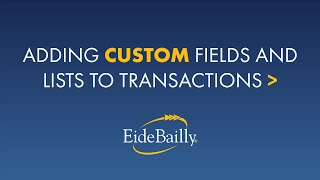 Adding a Custom Field & Custom List to NetSuite Transactions
