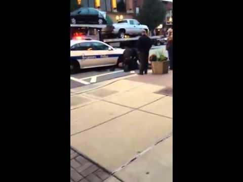 Sycamore IL police taze handcuffed man.