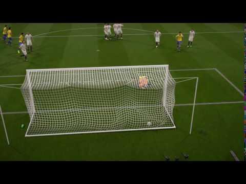 Gol de falta de Jonathan Viera - FIFA 17