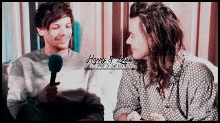 harry styles & louis tomlinson ✘ that's so us