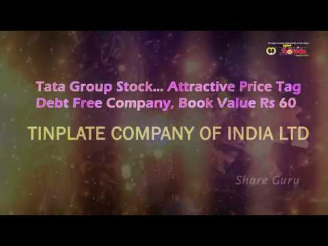 Tata Group Stock With Attractive Price - TINPLATE COMPANY OF INDIA LTD, BSE CODE - 504966