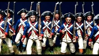 Painting Perry Miniatures Revolutionary War AWI Continental Americans