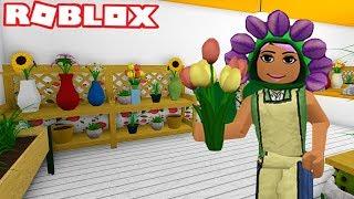 I MADE A FLOWER SHOP AUF BLOXBURG | Garten-Update | Roblox